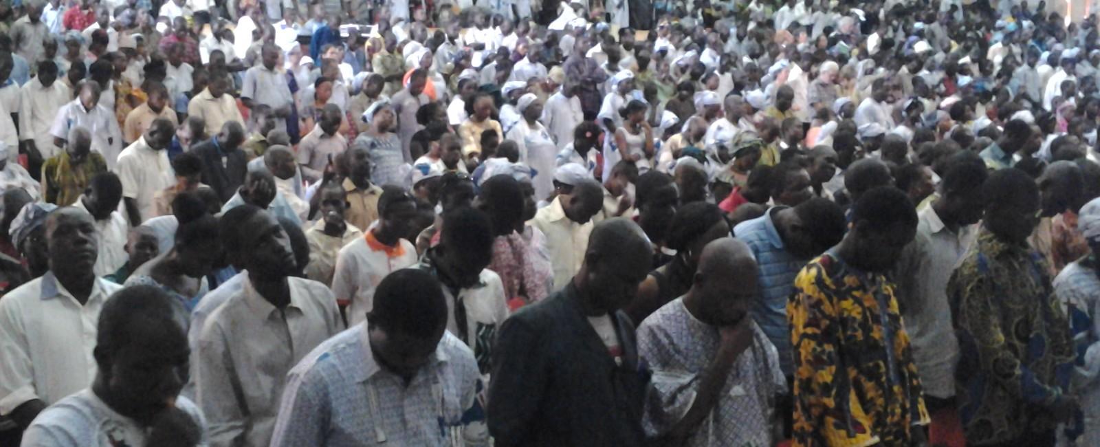 Prier pour la paix et l'unité au Mali.