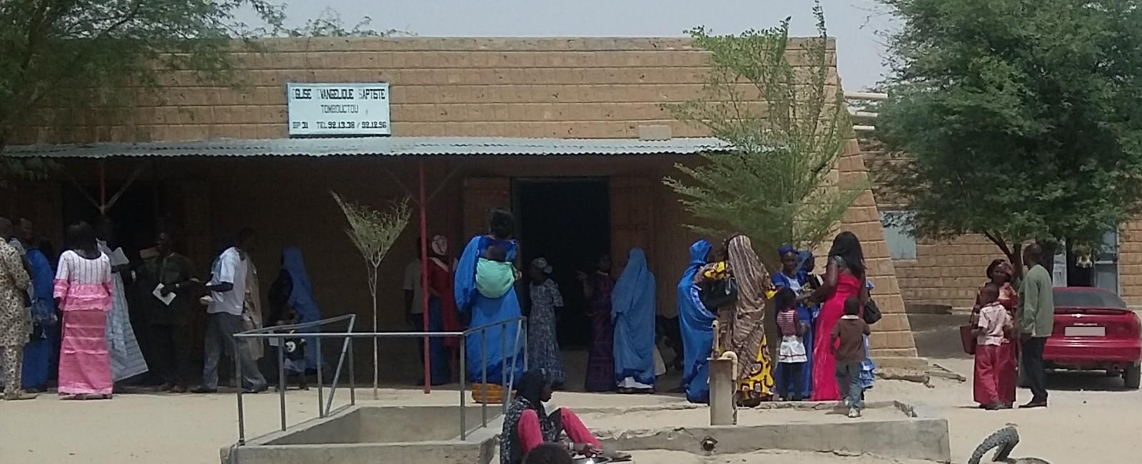 Apporter l'Evangile du Salut des âmes aux Maliens.